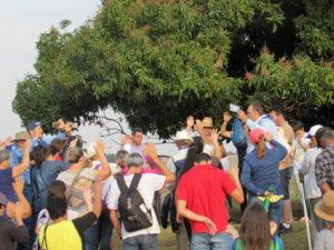 Fiéis caminham durante 3 dias de Rubineia a Jales para participar da 34ª Romaria Diocesana de Jales