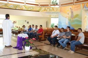 Após retiro espiritual seminaristas retornam as atividades no seminário diocesano