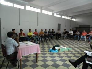 Seminaristas das Dioceses de Jales e Votuporanga participam de retiro espiritual