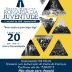 Jovens da Diocese de Jales participarão da Romaria Nacional da Juventude