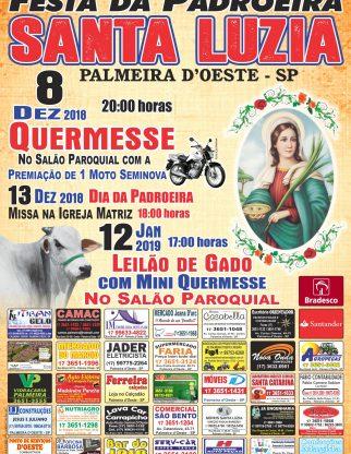 Festa da Padroeira Santa Luzia