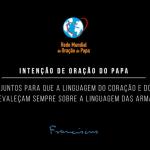 Atendendo a pedido do Papa, Celam promove campanha contra violência