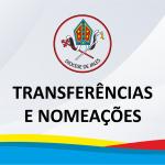 Transferências e nomeações