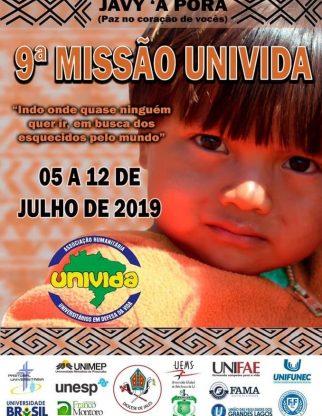 9º MISSÃO UNIVIDA/2019