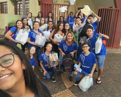 Grupo de jovens Filhos de Maria da Catedral retomam seus encontros com muita oração e animação