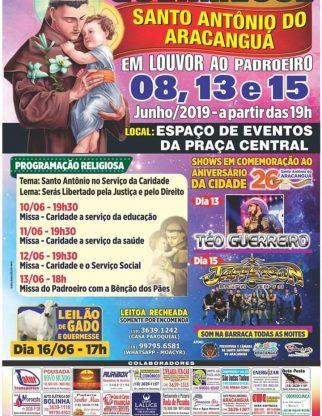 Quermesse do Padroeiro Santo Antonio do Aracanguá