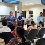 Comunidade da Paróquia de Santa Albertina fazem homenagem especial  aos pacientes do Hospital de Amor, em celebração ao Dia das Mães