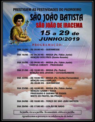 Festa do Padroeiro - São João de Iracema
