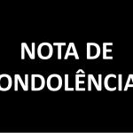 NOTA DE CONDOLÊNCIAS