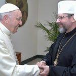 A Igreja Greco-católica ucraniana encontra o Papa no Vaticano