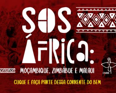 A Cáritas Brasileira e a Conferência Nacional de Bispos do Brasil (CNBB) lançam hoje a segunda fase da campanha SOS África: Moçambique, Zimbábue e Maláui