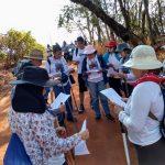 Peregrinos saem de Santa Clara d' Oeste até Jales na 4ª Caminhada de Fé para a Romaria Diocesana