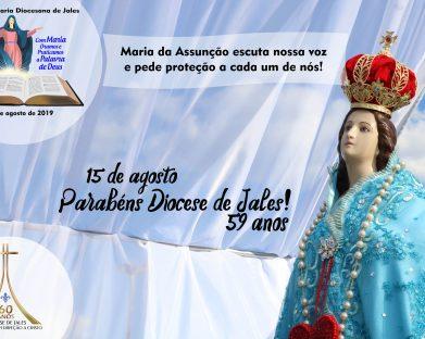 Diocese de Jales Celebra 59 anos de Instalação