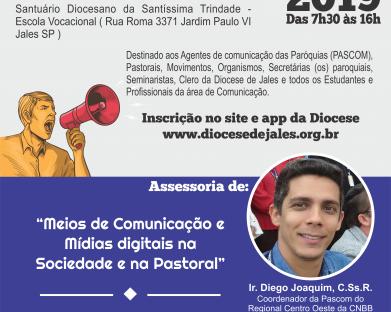 Inscrição - Encontro Diocesano de Comunicação