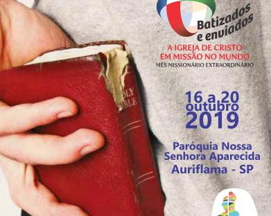 Inscrição Semana Missionária Extraordinária 2019