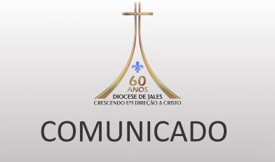 Comunicado da Chancelaria - Ordenação Diaconal