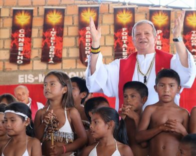 Segundo vice-presidente da CNBB visita sete comunidades indígenas da Raposa Serra do Sol
