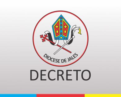 Decreto de Nomeação - Provisão Canônica Diácono Juliano