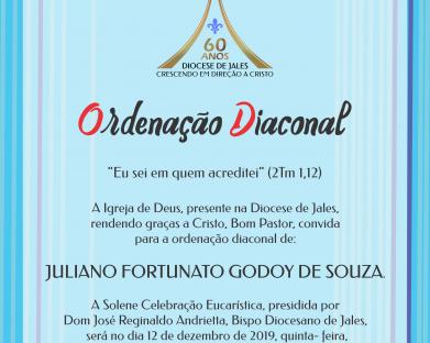 Ordenação Diaconal - Juliano