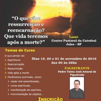 Palestra Padre Telmo - Jales