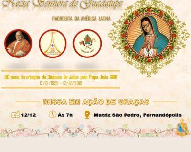 Missa em Ação de Graças - Fernandópolis