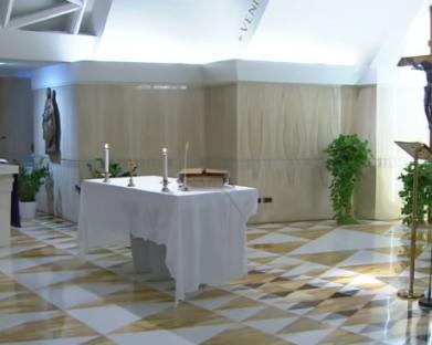 O Papa reza a fim de que vençamos o medo neste tempo difícil