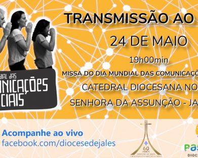 Diocese de Jales celebra 54º Dia Mundial das Comunicações Sociais neste domingo (24)