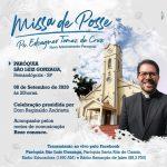 Acompanhe a Missa de posse do Pe. Edvagner como novo Administrador da Paróquia São Luiz Gonzaga