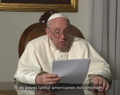 """Papa: """"com alma"""", os latino-americanos podem superar a crise provocada pela pandemia"""