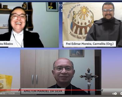 LIVE SOBRE O DIA MUNDIAL DA VIDA CONSAGRADA CONECTA MAIS DE 500 PESSOAS